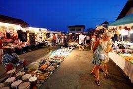 Le marché à Mimizan Plage