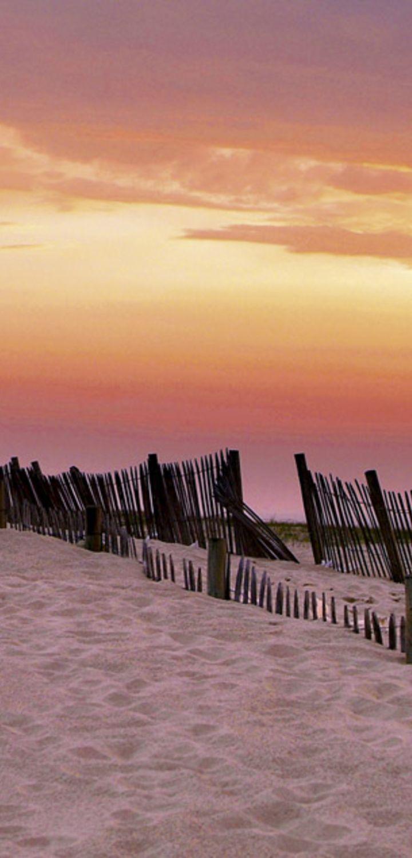 webcam Plage du Nord sur Mimizan et coucher de soleil sur l'océan atlantique