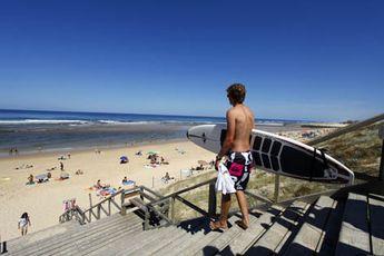 Mimizan dans les Landes - surf, bodyboard, champions