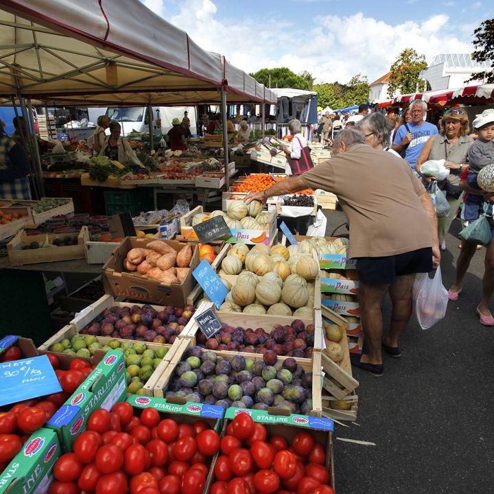 Les marchés  de Mimizan, les produits régionaux et locaux des Landes