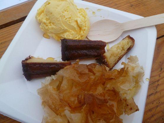 Gastronomie Landaise assiette de producteurs de pays à Mimizan