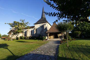 L'église de Saint-Paul-En-Born proche Mimizan
