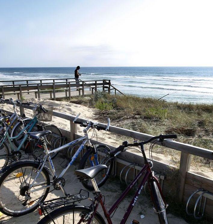 Pistes cyclables à Mimizan, Aureilhan, Bias, St Paul en Born et Pontenx les Forges
