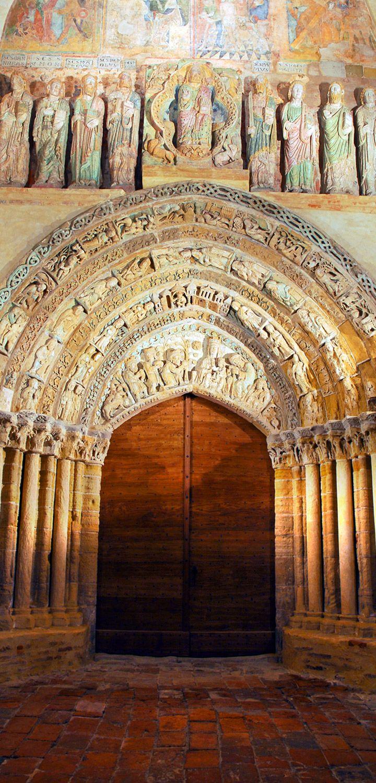 Clocher porche Mimizan - Unesco - St Jacques de Compostelle