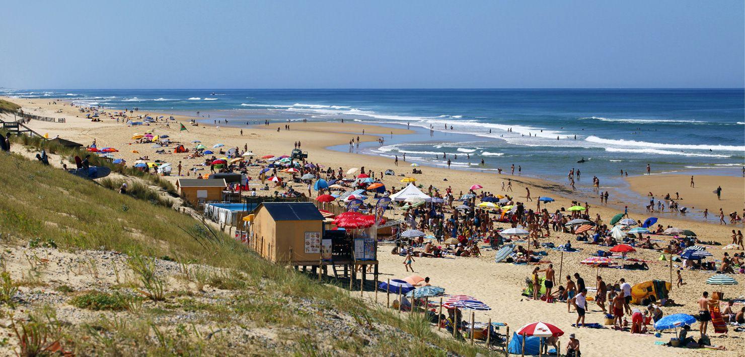 Les plages de Mimizan Plage - surf - bodyboard - pêche - jet ski