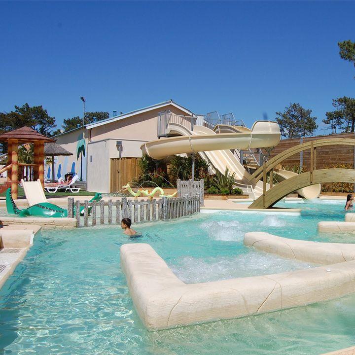 Les campings de Mimizan, hébergement de plein air piscine et animation à Mimizan
