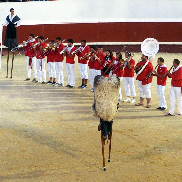 Les traditions landaises : les échassiers à Mimizan