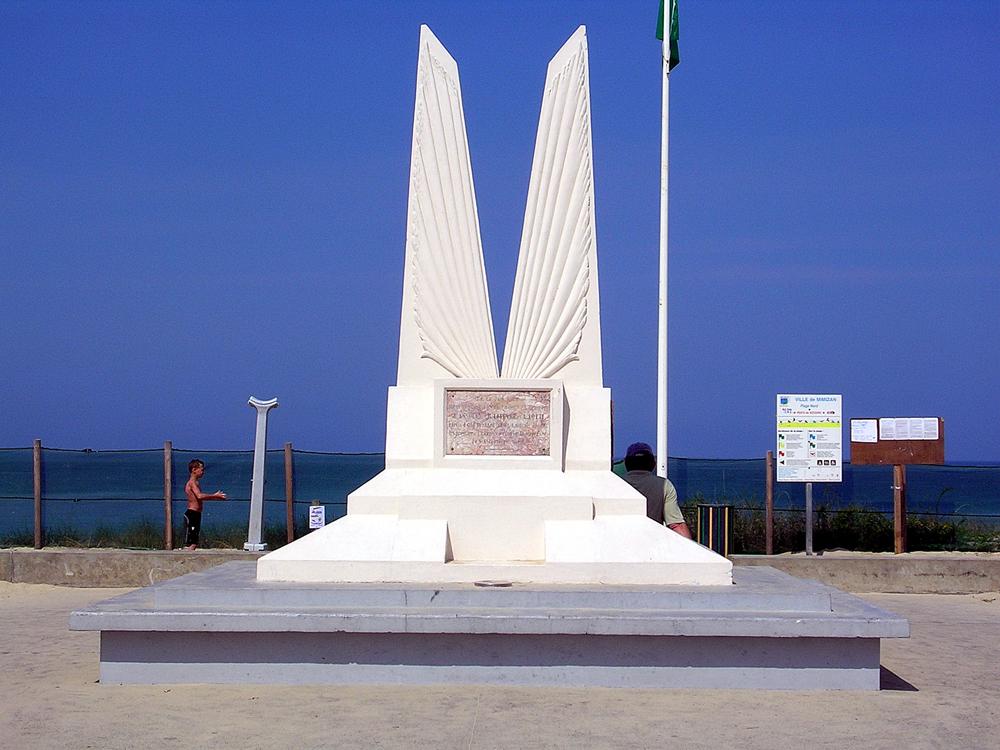 Monument des Ailes à Mimizan-Plage