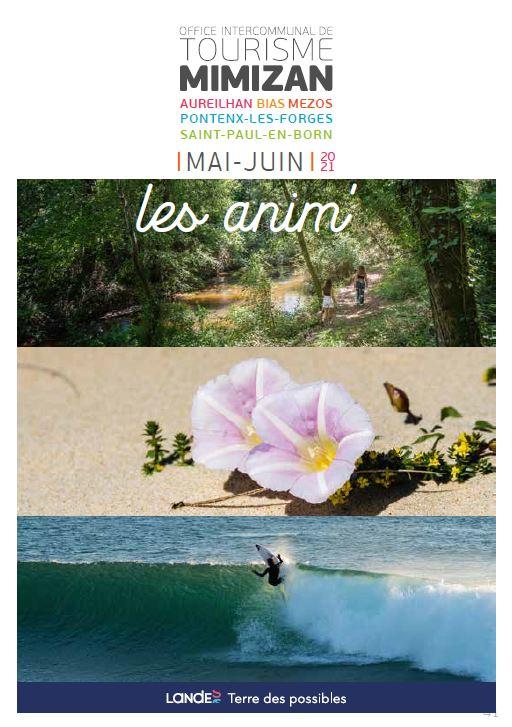 Animations mai et juin sur Mimizan