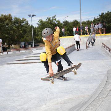 Skate Park  en MIMIZAN PLAGE