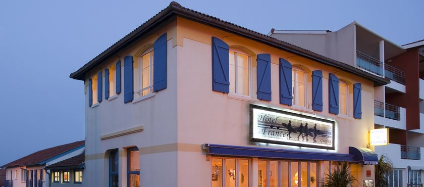 Hôtel de France 2 étoiles à MIMIZAN