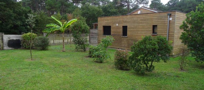 Location Chalet 4 personnes Dury Denhière Christelle à MIMIZAN PLAGE