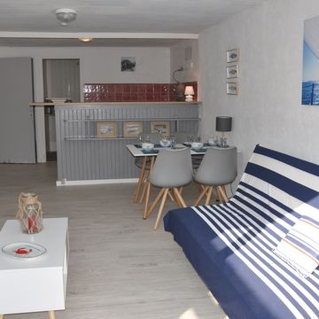 Renting Le Cabanon Apartment persons 3 in MIMIZAN PLAGE