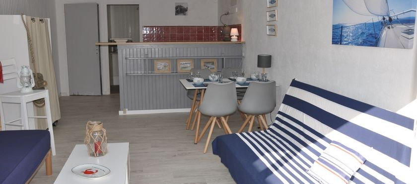 Location Appartement 3 personnes Le Cabanon à MIMIZAN PLAGE