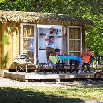 Camping du Lac 3 estrellas en MIMIZAN