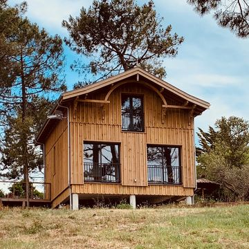 Location La Cabane du Château d'Ô Maison personnes 6 à MIMIZAN PLAGE