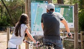 La Vélodyssée - De Mimizan Plage à Contis Plage à MIMIZAN PLAGE