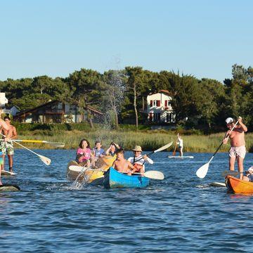 Base de Loisirs -Canoé kayak paddle et pédalo  in MIMIZAN PLAGE