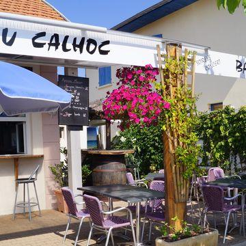 Restaurant Lou Calhoc - Chez Fred et Véro  à MIMIZAN PLAGE