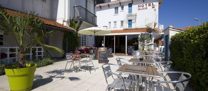 Hôtel Bellevue 2 étoiles à MIMIZAN PLAGE