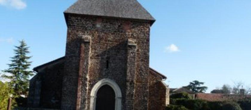 Eglise Saint Jean Baptiste de Mézos à MEZOS (40)