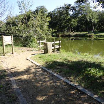 Ponton de pêche du courant de Mimizan  à MIMIZAN