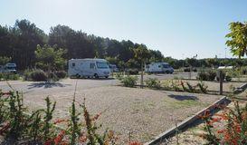 Aire de stationnement de camping-cars des Hournails  in MIMIZAN PLAGE