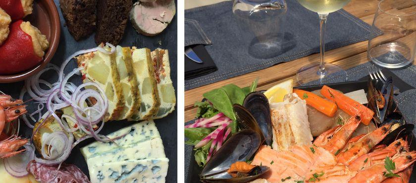 Restaurant Les Pieds dans le Plat  à MIMIZAN PLAGE (40)
