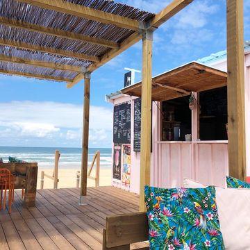 Cabane de plage- LE PIT ON THE BEACH  in MIMIZAN PLAGE