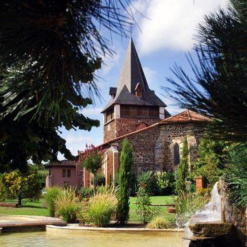 Eglise Saint Martin de Pontenx les Forges  à PONTENX-LES-FORGES