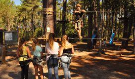 Jungle park à SAINT-JULIEN-EN-BORN (40)