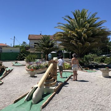Golf Miniature Mimizan Plage  in MIMIZAN PLAGE