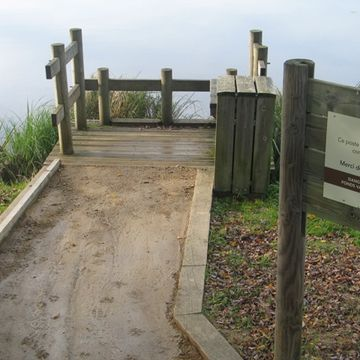 Ponton de pêche de l'étang d'Aureilhan - St Paul en Born  à SAINT PAUL EN BORN