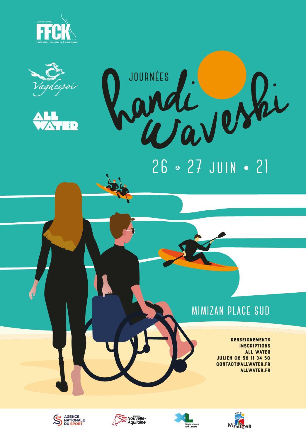 Journées Handi Waveski 5 ème édition