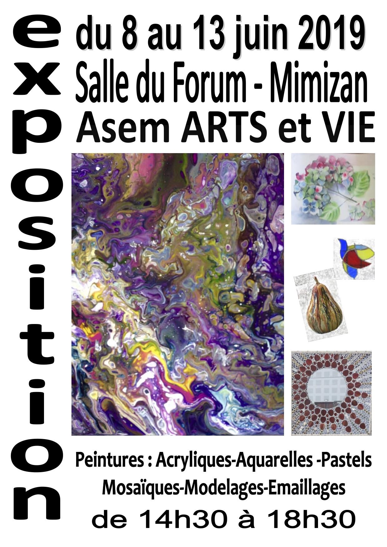 Exposition Asem Arts et Vie