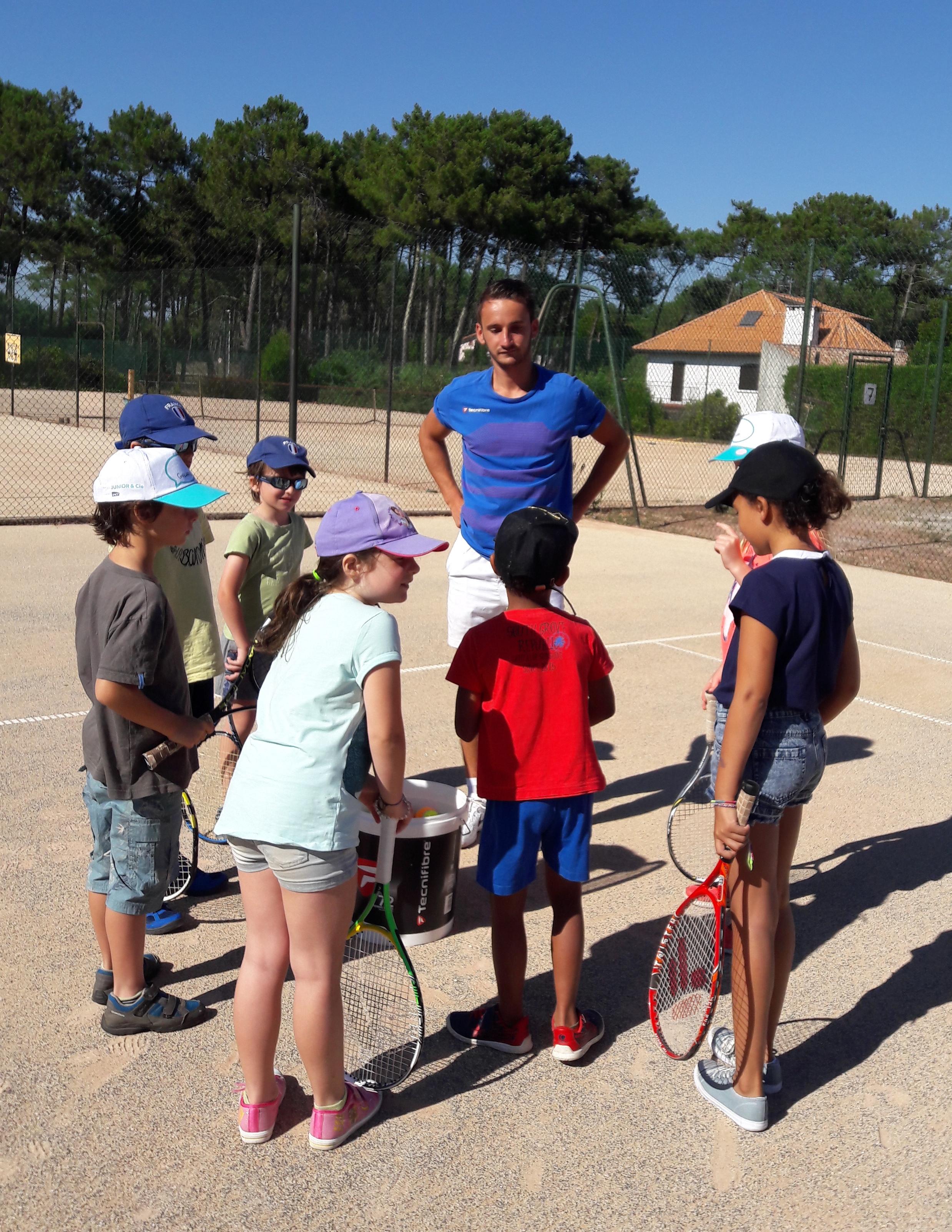Activité enfants : Découverte du Tennis - 10 à 14 ans
