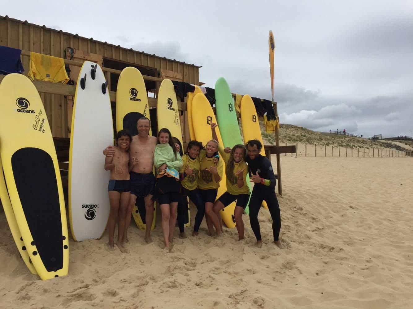 Activité enfants et ados : Initiation au surf/Bodyboard Watusurf School