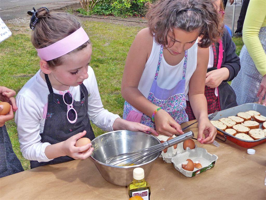 Activité enfants : Au temps des maïades - Les desserts de Mamie