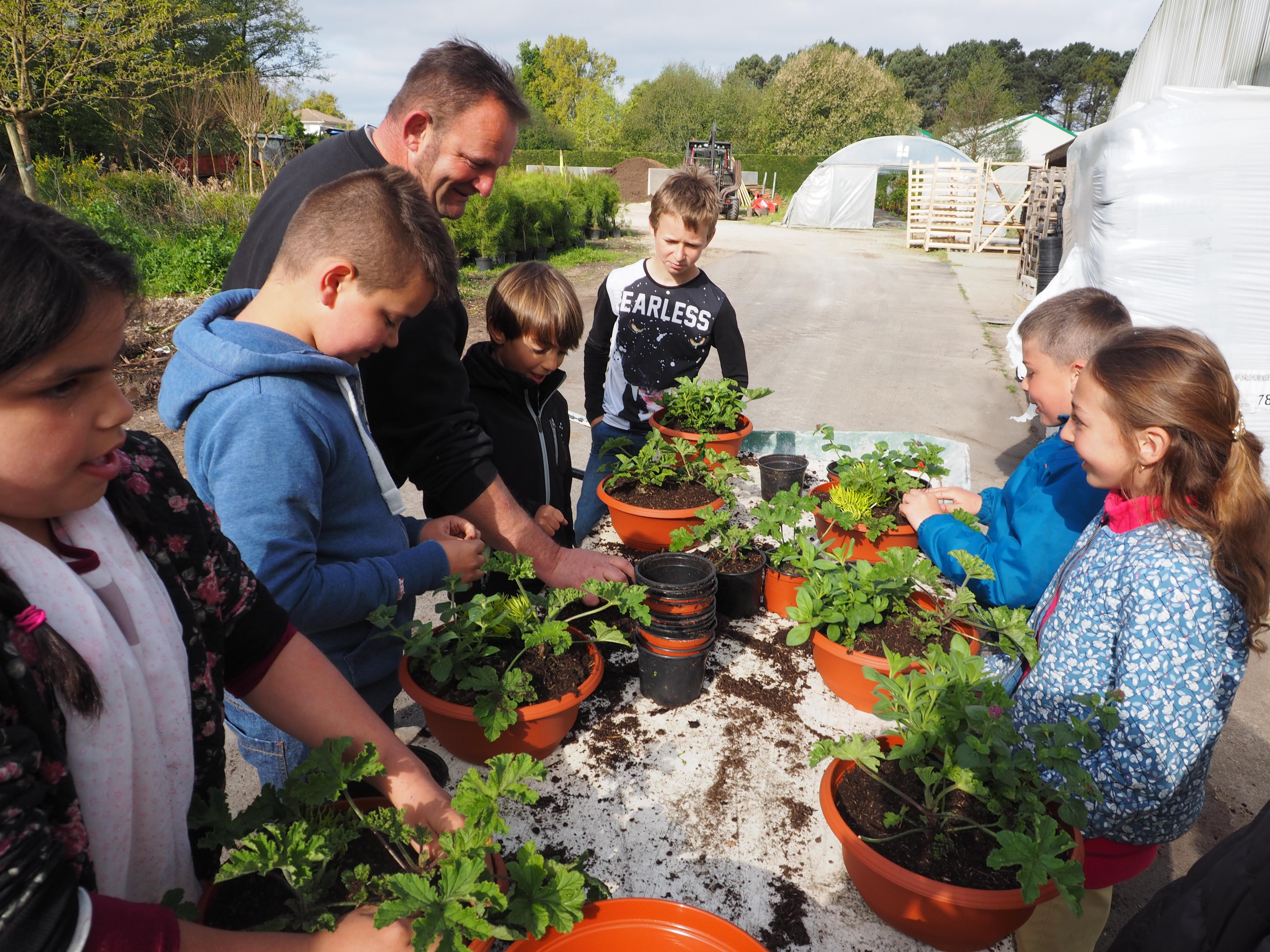 Animation enfants: Viens tester le métier de jardinier