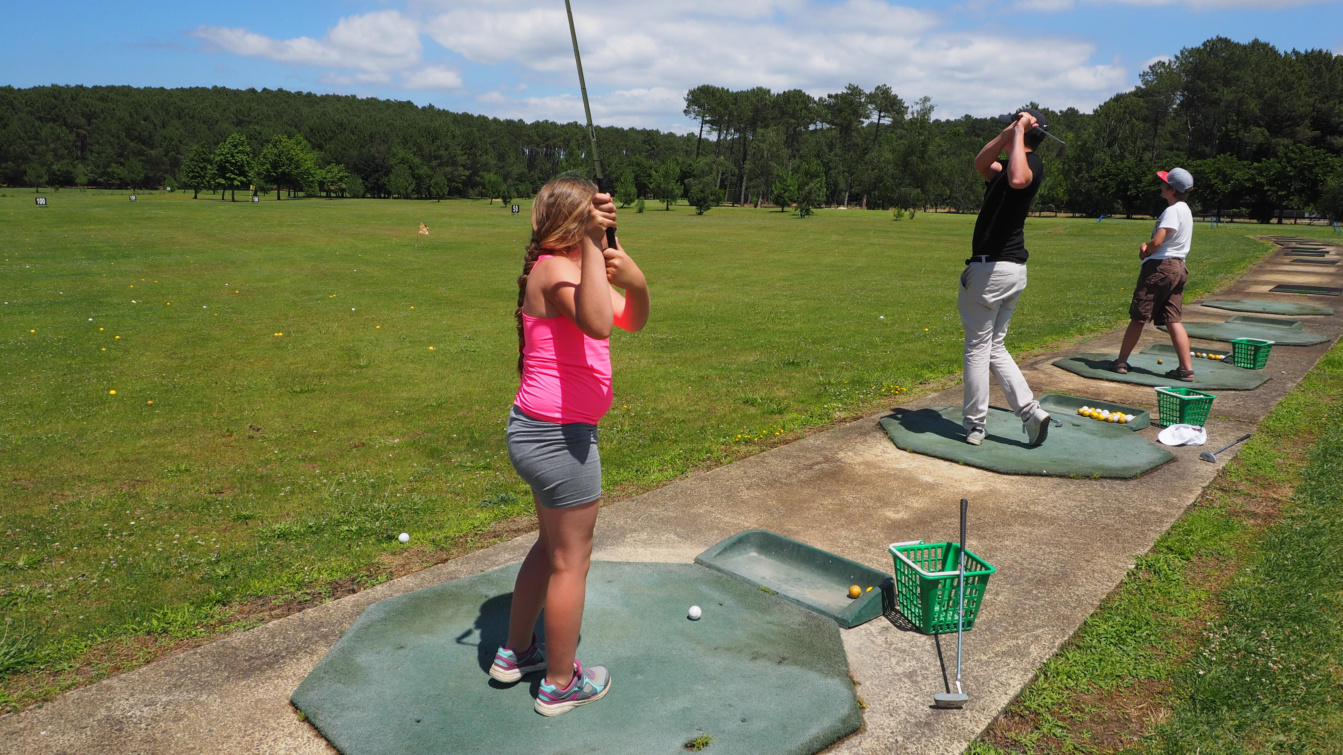 Activité enfants : Découverte du Golf et du Disc Golf