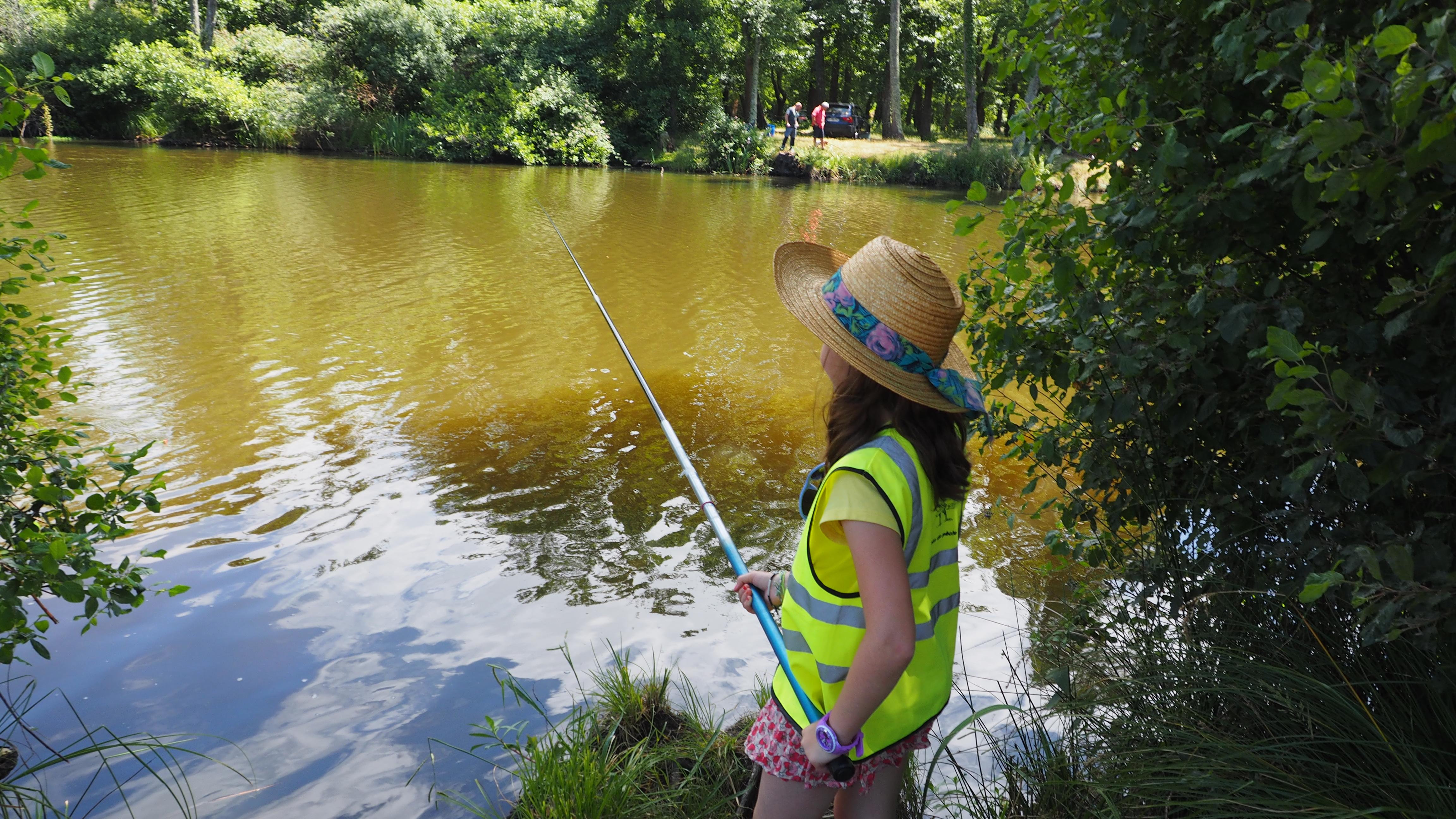 Initiation à la pêche en eau douce