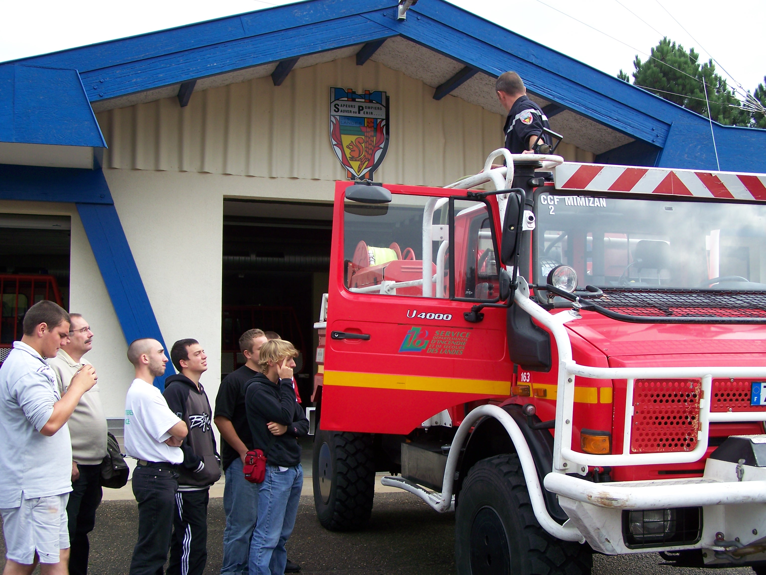 Préservation de la forêt contre les incendies et visite du Centre de Secours