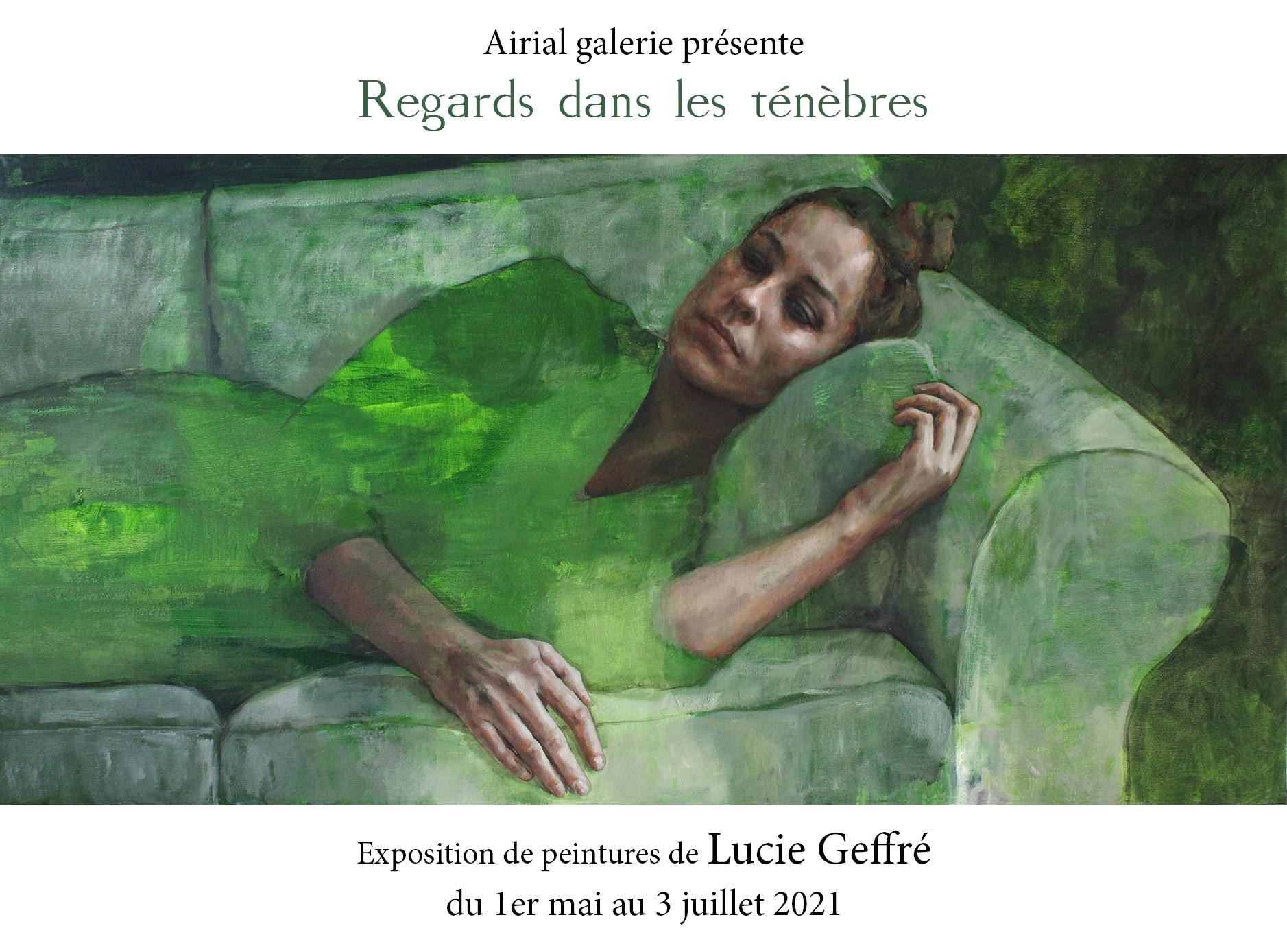 Expo de peinture de Lucie Geffré