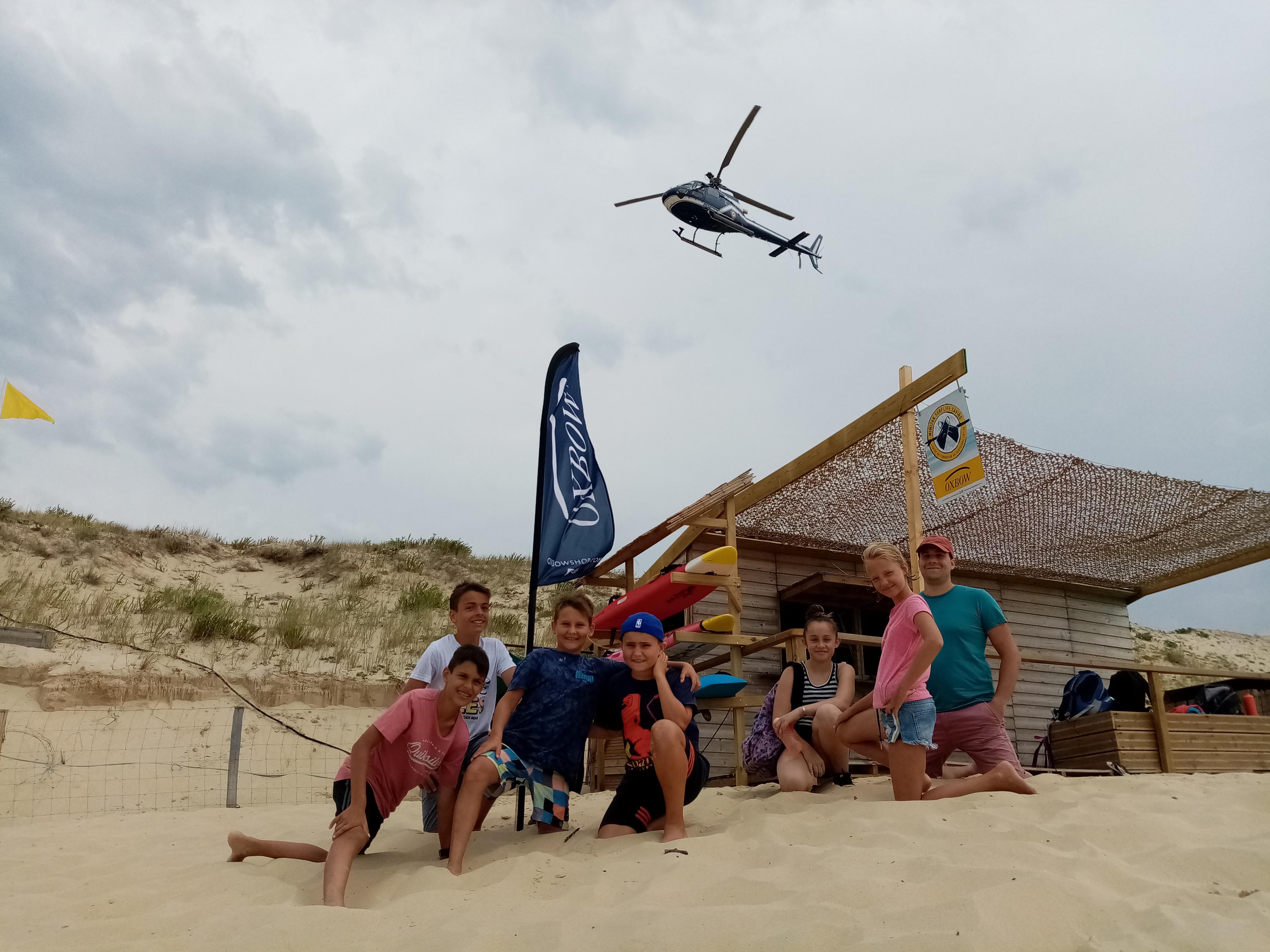 Initiation au sauvetage côtier