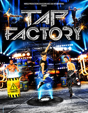 Spectacle musical : tap factory