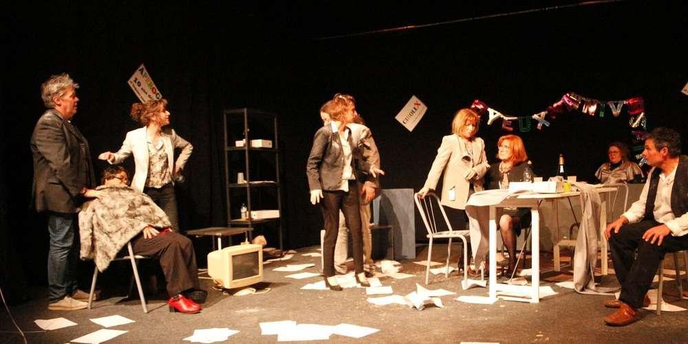 """Théâtre de la Clairière (Morcenx) """"Tremblements"""""""