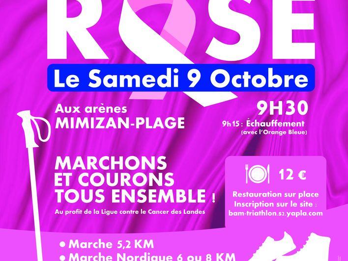 Octobre Rose : Marchez ou courez !