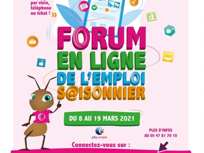 Forum en ligne de l'emploi saisonnier