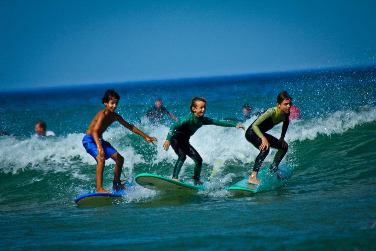Initiation au surf Silver Coast