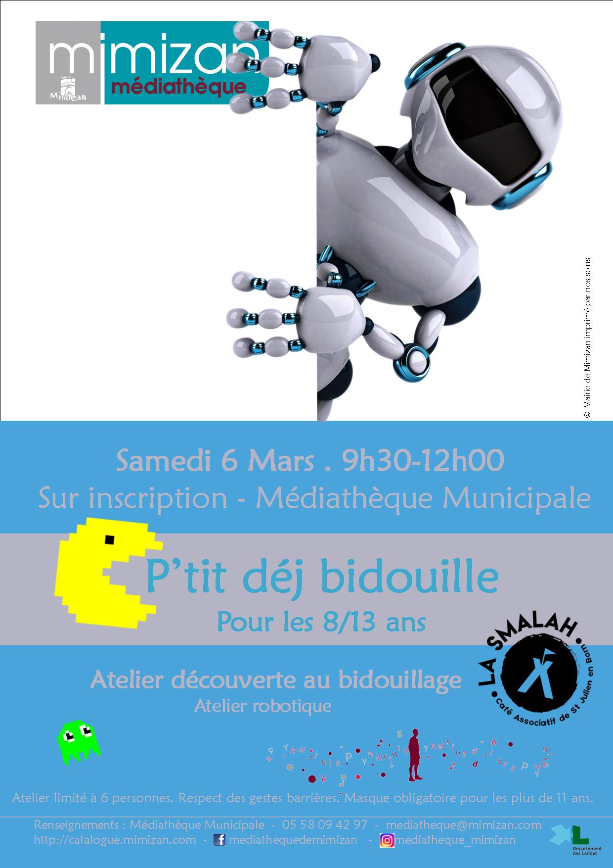 Petit Déj Bidouille: Ateliers Numériques